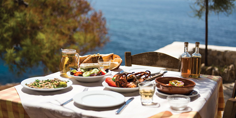 Greece one of Top 5 Food Destinations around the World