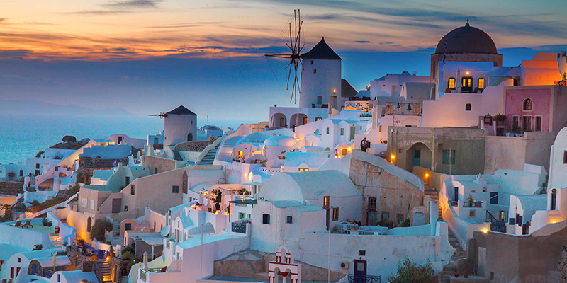 Santorini named Best Island in Europe